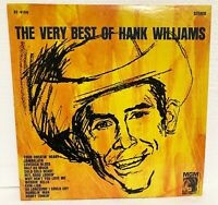 HANK WILLIAMS - THE VERY BEST OF - 1973 MGM RECORDS RIAA SE-4168
