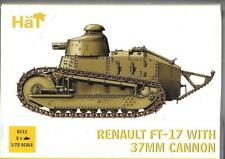 HAT Renault FT-17 with 37mm Cannon (2)  in 1/72 8113  ST