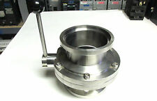 """* NEW .. Stainless Steel Industrial 3 3/4"""" Food Grade Butterfly Valve .. VH-58"""