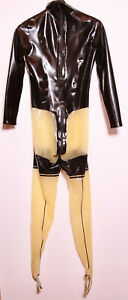 Latex Rubber Damen Catsuit Anzug, nagel neu Top Größe M reinschauen lohnt sich