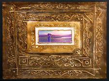 """Steven D'hanson """"Morning Light"""" Original Mixed Media Painting, field, Make Offer"""