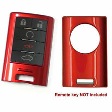 Glossy Red Remote Smart Key Fob Shell Cover For Cadillac Ats Cts Xts Escalade