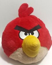 "Angry Birds Plush Red Bird 10"" Commonwealth 2010 EUC Large"