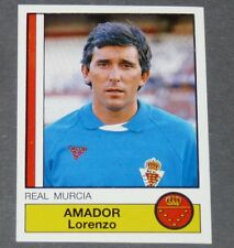 155 AMADOR REAL MURCIA PANINI LIGA FUTBOL 87 ESPAÑA 1986-1987 FOOTBALL