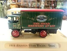 "Matchbox Models Of Yesteryear 1918 Atkinson Steam Wagon ""SWAN""  YBG 03"