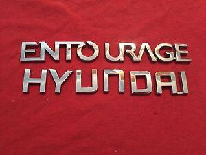 2008 Hyundai Entourage Emblem (315) 07 08 09 10