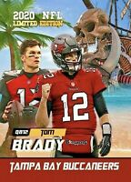 Tom Brady Tampa Bay Buccaneers 2020 Free Agent Card. Limited Edition of 1,000