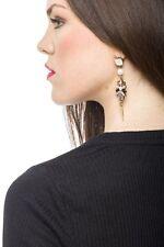 Orecchini DONNA Ear Stud Fashion Primavera Pretty In Rosa Fiore Goccia Orecchino REGALO