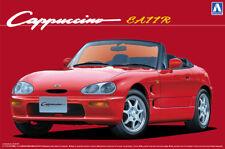 Suzuki Cappuccino EA11R 1:24 Model Kit Bausatz Aoshima 051498