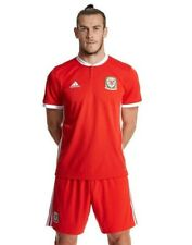 WALES Adidas Home Football Shirt 2018-2019 NEW Men's Jersey Top Kit Small