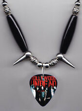 Hollywood Undead Band Photo Guitar Pick Necklace #1