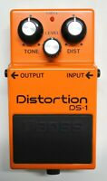 BOSS DS-1 Distortion Guitar Effects Pedal 2005 #107 Free Shipping