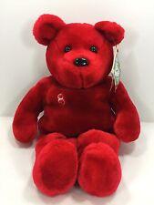 Salvinos Plush Teddy Bear Big Bammer Red