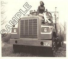 DODGE TRUCK 1975 900 BIG HORN Short Nose PROTOTYPE 8x10 B&W GLOSSY PHOTO