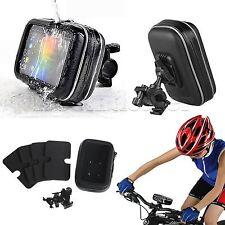 """Bike Motorcyle Handlebar Mount w/waterproof Case for 5""""GPS Case Garmin Nuvi 200"""
