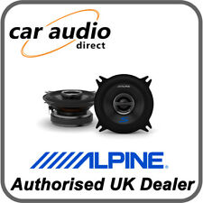 "ALPINE S-S40 10cm 4"" 140W 2-Way Coaxial Car Radio Stereo Audio Speakers Door"