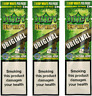 JUICY ORGANIC WRAPS Rolling Papers 3 Pack (6pcs) Unflavoured (Original)