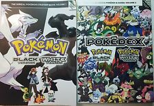 Pokemon Official Unova Pokedex and Strategy Guide Vol 1 and 2 Black and White