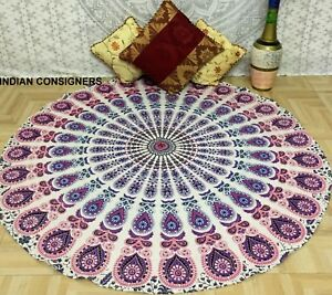 Beautiful Color Round Indian Art Home Decor Handmade Mandala Design Wall Hanging