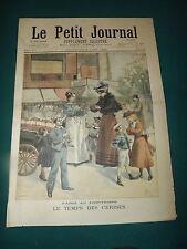 LE PETIT JOURNAL 1895 N°238 le temps des cerises, aux palais de l'elysée  S175