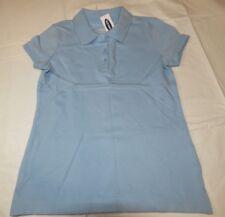 Old Navy girls youth short sleeve polo shirt S 6-7 Mo Blue School Uniform 975231