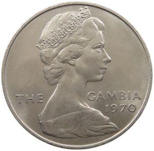 GAMBIA 8 SHILLINGS 1970 TOP #alb59 005