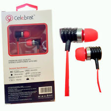 Genuine Stereo Headphones Handsfree headset With Mic For UNIVERSAL USE