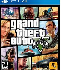 NEW Grand Theft Auto GTA V For Playstation 4 PS4 **SEALED**