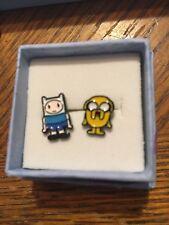 Earrings Jake and Finn Adventure Time New Unworn Very Cute