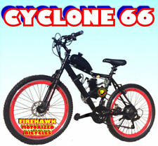 "USA SELLER NEW 2019 CYCLONE 66 GAS 80 CC MOTOR ENGINE & 26"" BIKE SCOOTER DIY KIT"