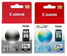 Canon Genuine PG-210XL/CL-211XL B/C 2PK Ink (OEM Pack) for PIXMA MG2120,MG2220
