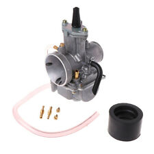 Universal 24mm Motorcycle Carburetor For Keihin Carb PWK Mikuni With Power Jet
