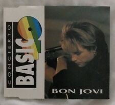 BON JOVI - CD - CONCIERTO BASIC 40 - SPAIN PROMO PRESSING VERY RARE - LIVE 1992