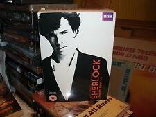 Sherlock - Series 1-3 - Complete (DVD, 2014, 6-Disc Set, Box Set)