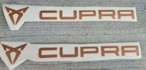 Cupra Seat Performance 20 cm **2 Stück** Seitenaufkleber **Autoaufkleber/Sticker