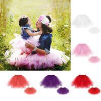 Fashion Girls Toddler Kids Baby Mommy Princess Party Dress Tulle Tutu Skirt