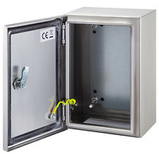 Vevor 12x8x6 Stainless Steel Electrical Box Nema 4x Electrical Enclosure Ip65