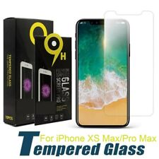 iPhone XS Max/Pro Max Screen Protectors LOT Tempered Glass in Retail Packaging