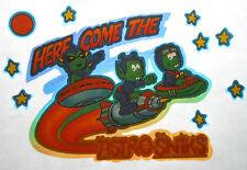 Smurfs Astrosnicks T-Shirt Iron-On Transfer Vintage Tv Memorabilia 80s Cartoon