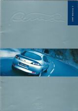 Ford Puma 1.7i 1997-98 UK Market Sales Brochure