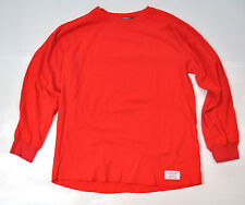 Undefeated Red Cotton Thermal LS Shirt 2XL