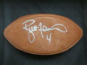 Brett Favre HOF Signed Football