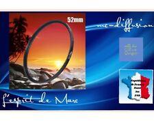 Filtre UV 52mm pour Tous Objectifs Canon, Nikon, Tamron, Sigma, Sony......