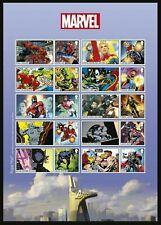 GB 2019 MARVEL COMICS SUPER HEROES SPIDER-MAN COLLECTORS SHEET MNH