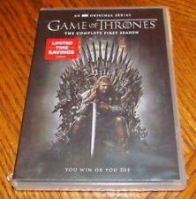 GAME OF THRONES Complete Season 1 DVD 2015 5-Disc Set New HBO Original Series