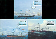 Ships, Boats Danish & Faroese Stamps
