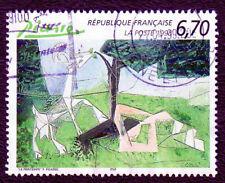 TIMBRE 1998 PICASSO LE PRINTEMPS SÉRIE ARTISTIQUE OBLITÉRÉ CACHET ROND