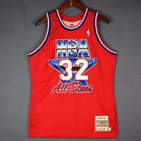 100% Authentic Magic Johnson Mitchell & Ness 1991 91 All Star Jersey Size 40 M