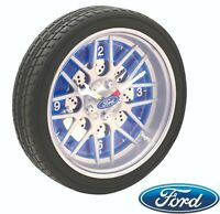 FORD Larger LED Tyre Wall Clock  FORD Racing Lovers   NEW 2020