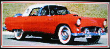 1956 FORD THUNDERBIRD CONVERTIBLE (CLASSIC CAR) ~ Counted Cross Stitch KIT #K609